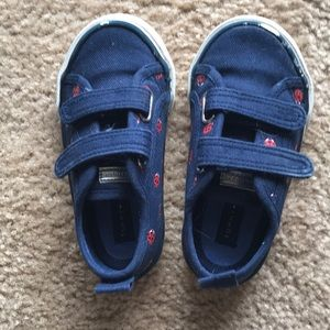 Tommy Hilfiger lady bug shoes